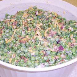 Bacon Ranch Pea Salad Mary