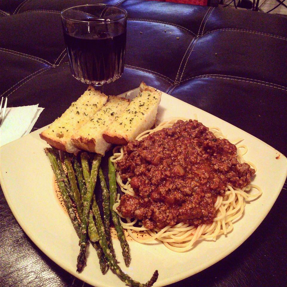 Mariu's Spaghetti with Meat Sauce Chef Sosa