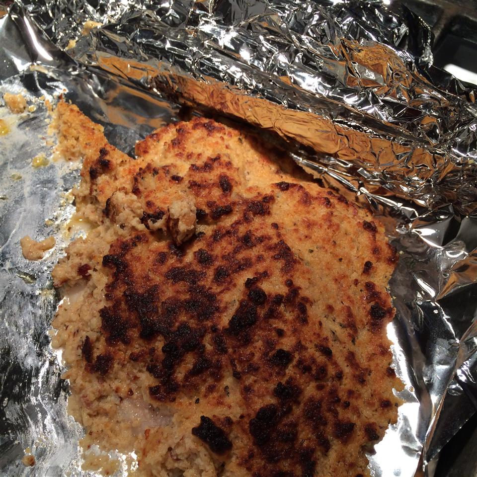 Almond and Parmesan Crusted Tilapia Dudercj