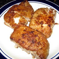 Onion Pan-Fried Pork Chops