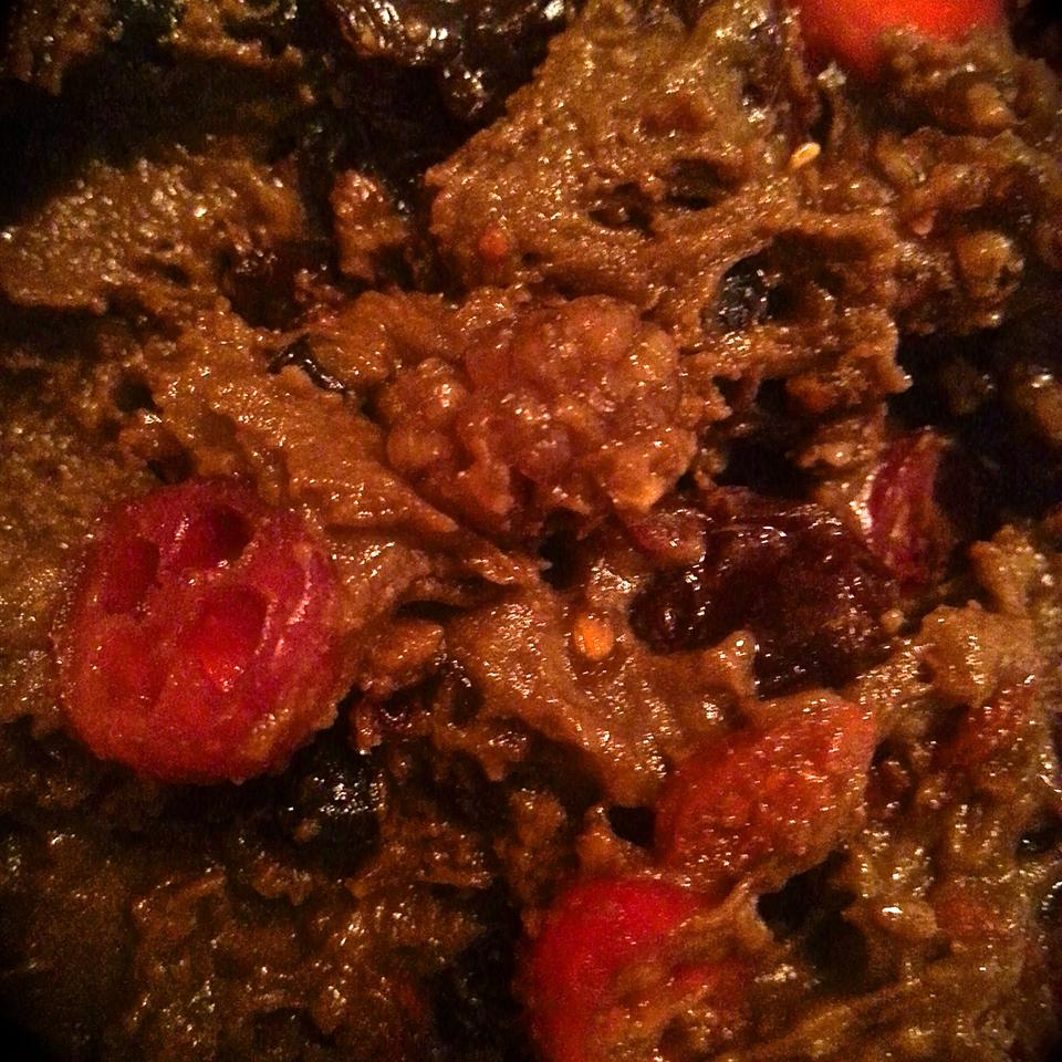 Steamed Cranberry Pudding David Poland
