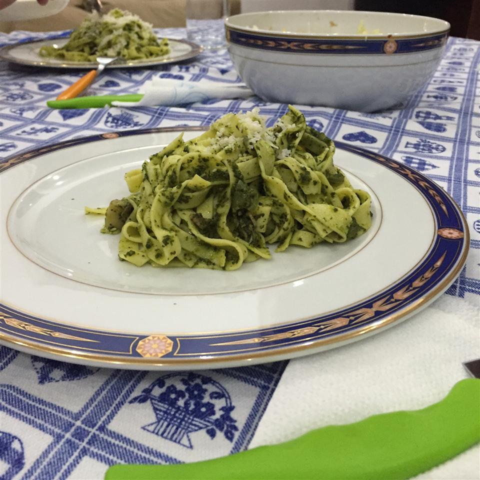 Pasta with Spinach Pesto Sauce Alexia
