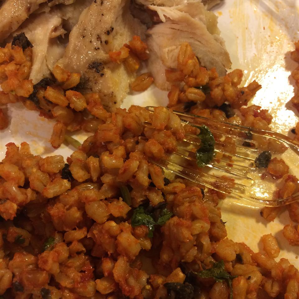 Mediterranean Barley Salad Donna Elizabeth Laury