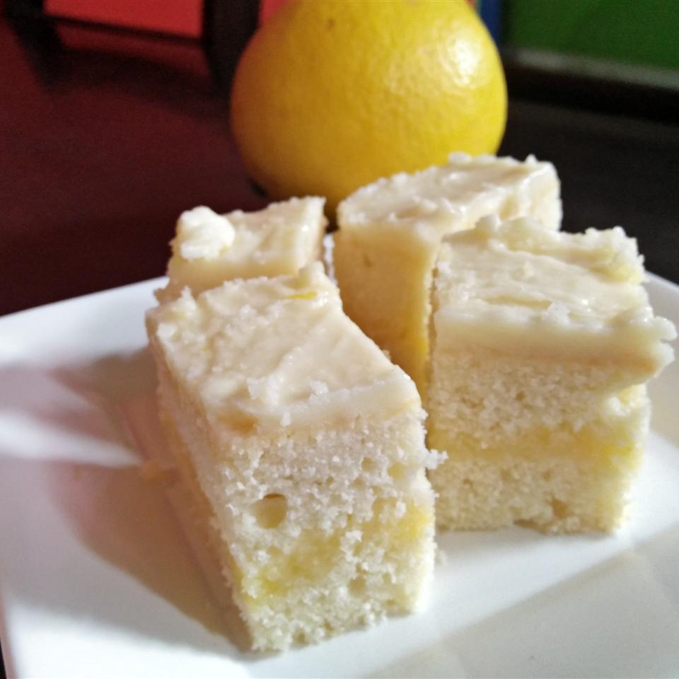 Lemon Cake with Lemon Filling and Lemon Butter Frosting Mark Joseph Dacume