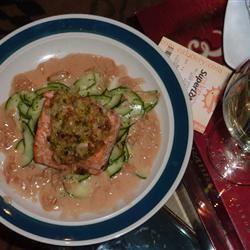 Ginger-Scallion Crusted Salmon GigZirb