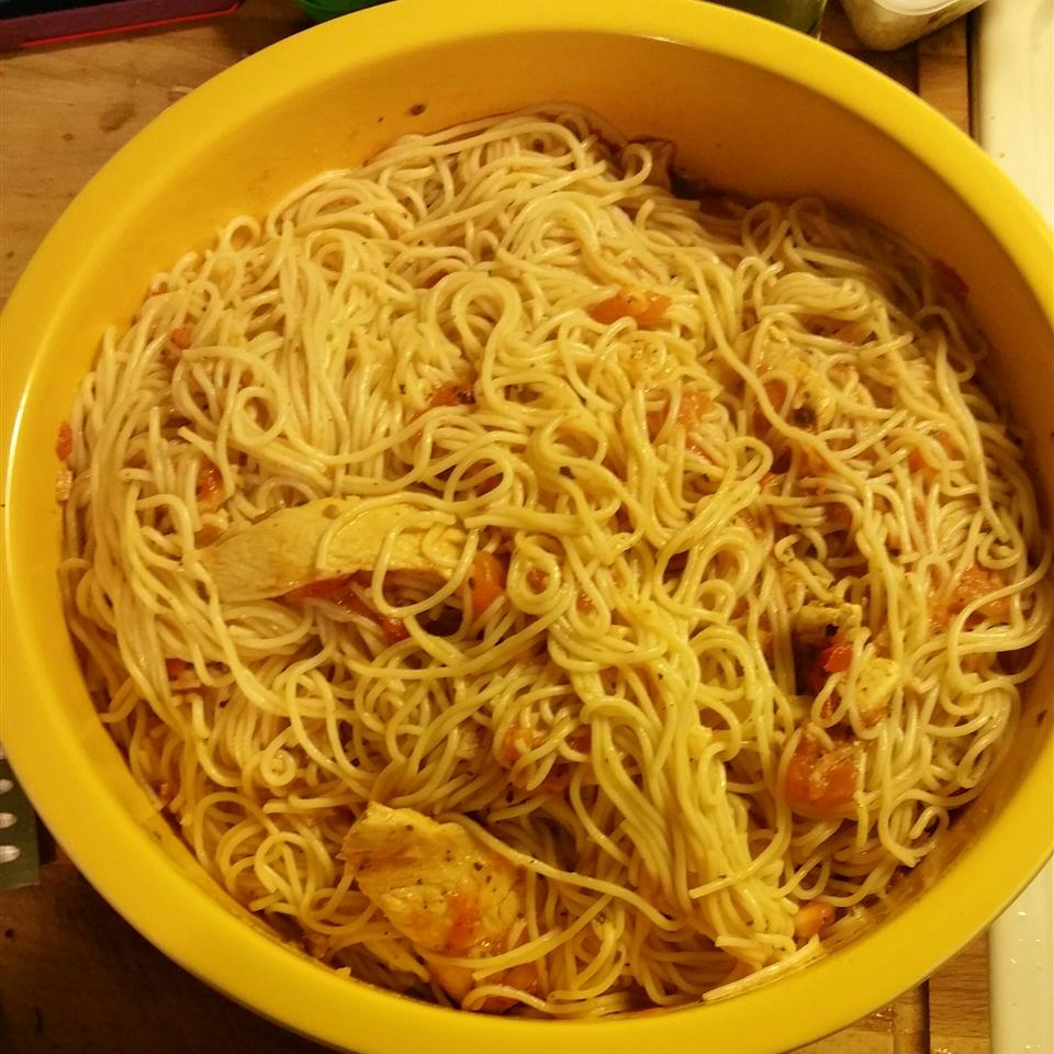 California Chicken Spaghetti
