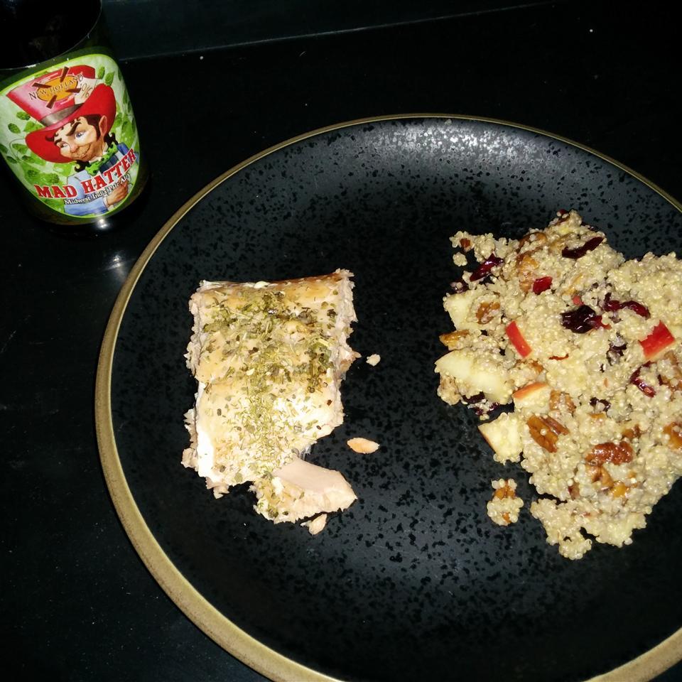 Cranberry Apple Pecan Quinoa Salad Vicki Coe
