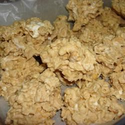 Almond Bark Drop Cookies Hoppe