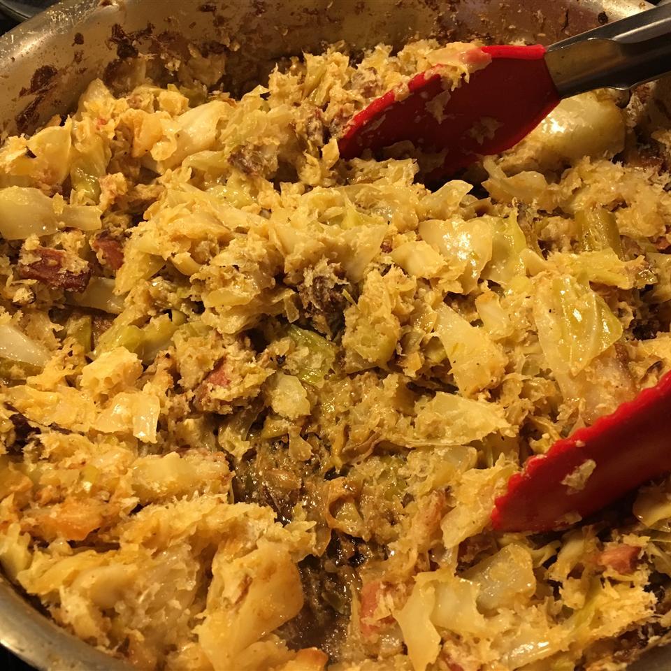 Creamed Cabbage Jennifer Cruz Chamberlain