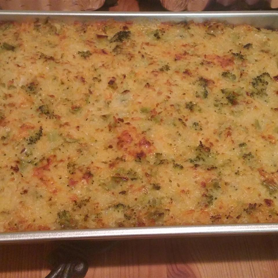 Broccoli Rice Casserole Mrs Zamora