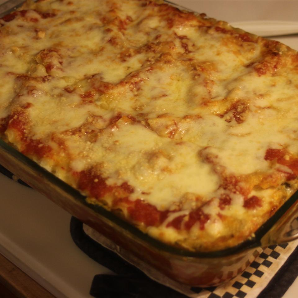 Vegetarian Four Cheese Lasagna Scott M.