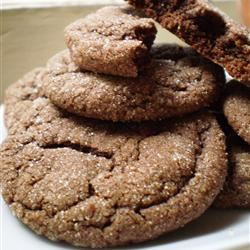 Chocolate Snaps Sugar Cookie Mochi Puffs