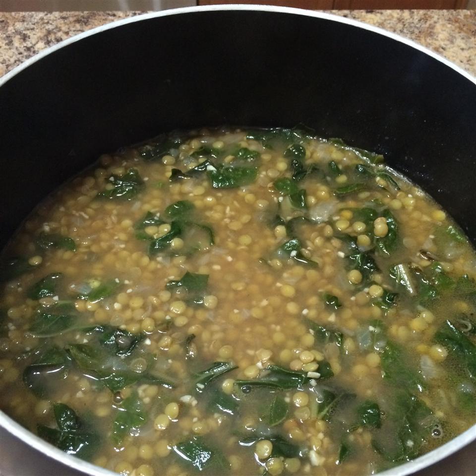 Lentil and Green Collard Soup KatieP