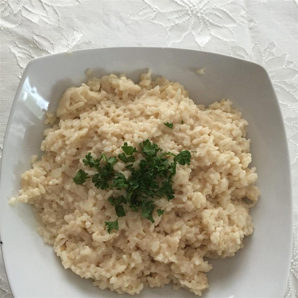 Risotto with Truffle and Parmesan Tamara Castano