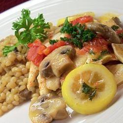 Tilapia and Mizithra Pasta Traci-in-Cali