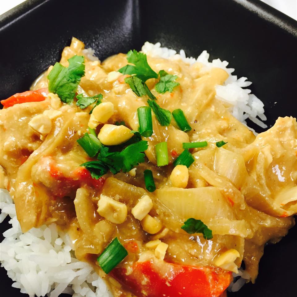 Slow Cook Thai Chicken Calvin Amanda Cabarrus