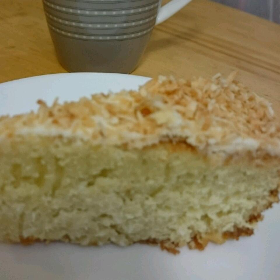 Coconut Coconut Milk Cake