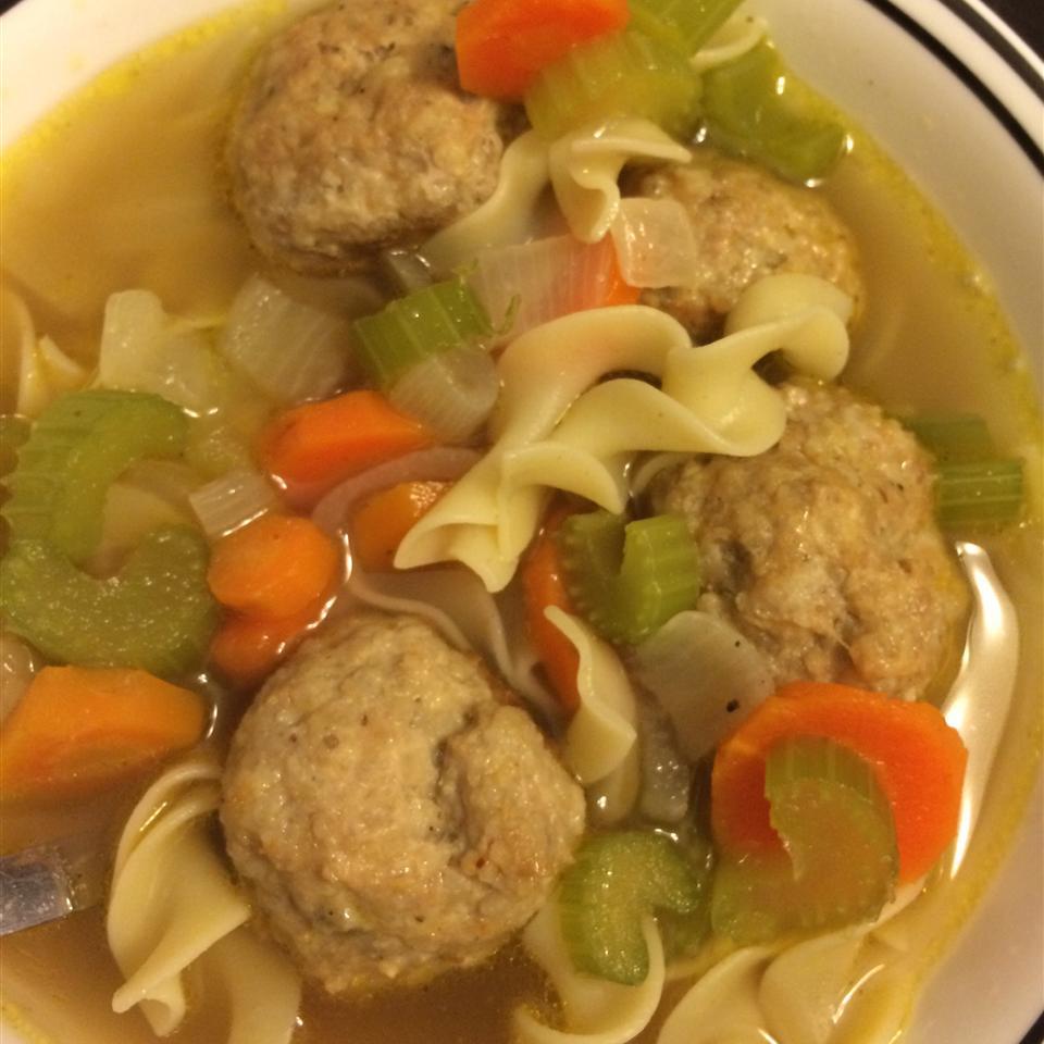 Chicken Meatball Soup Kayla Ann