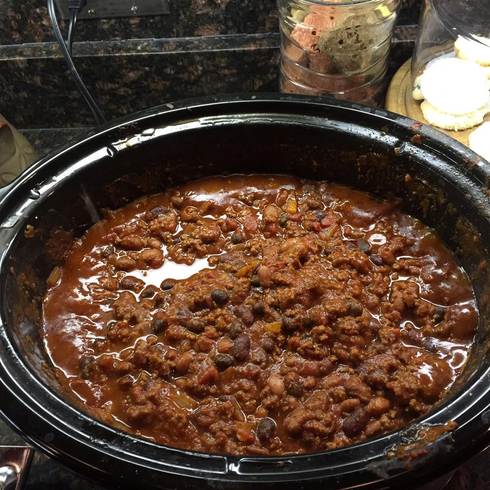 Christina's Slow Cooker Chili
