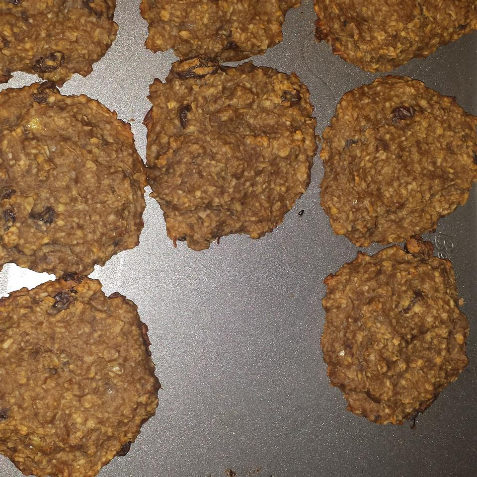 Healthy Banana Cookies toyitosal