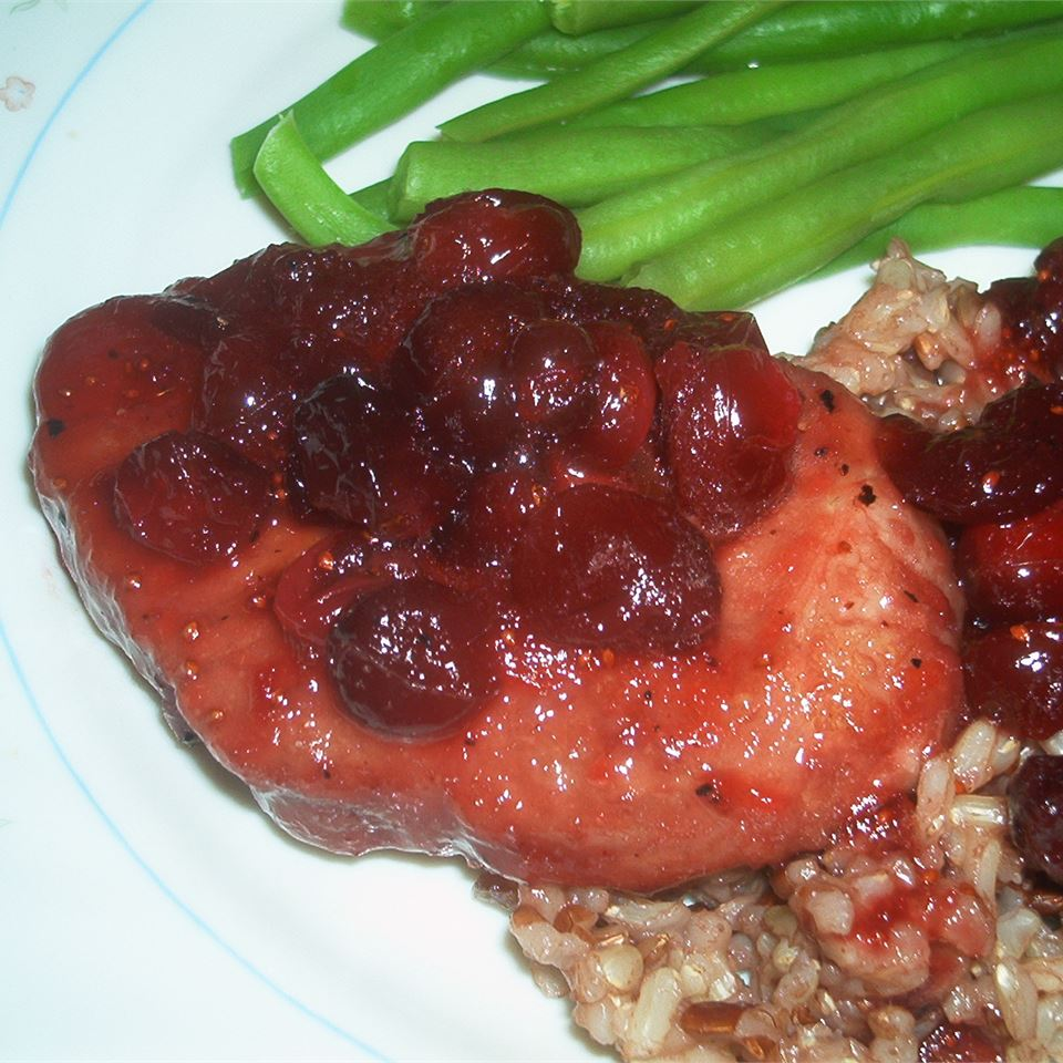 Cranberry Pork Chops II