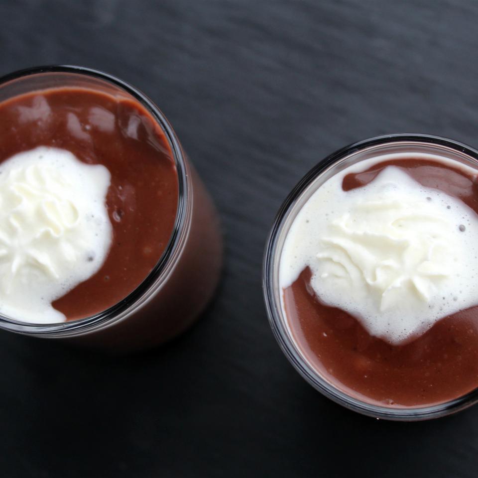 Chocolate Tahini Pudding