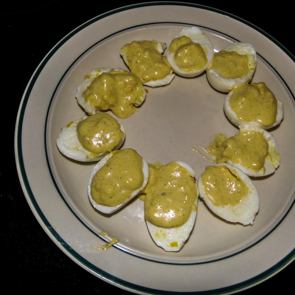 Spicy Italian Deviled Eggs Christina Reynolds