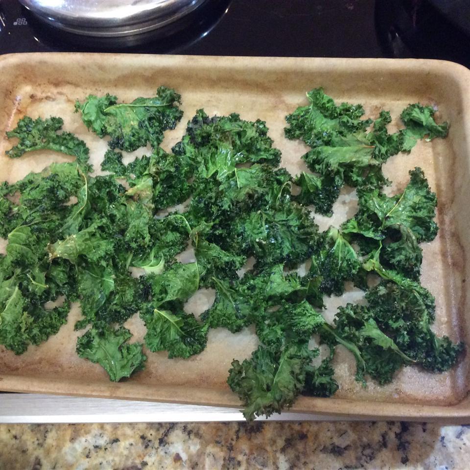 Baked Kale Chips Janet Abisror