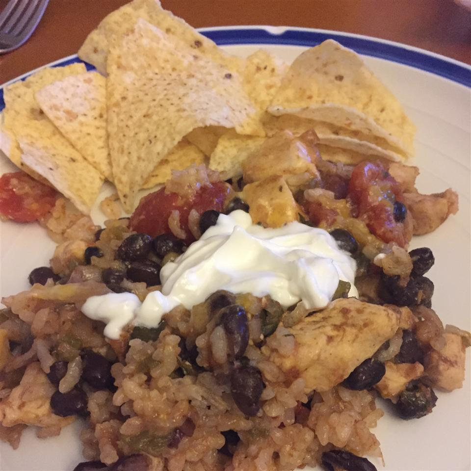 Chicken and Black Bean Casserole