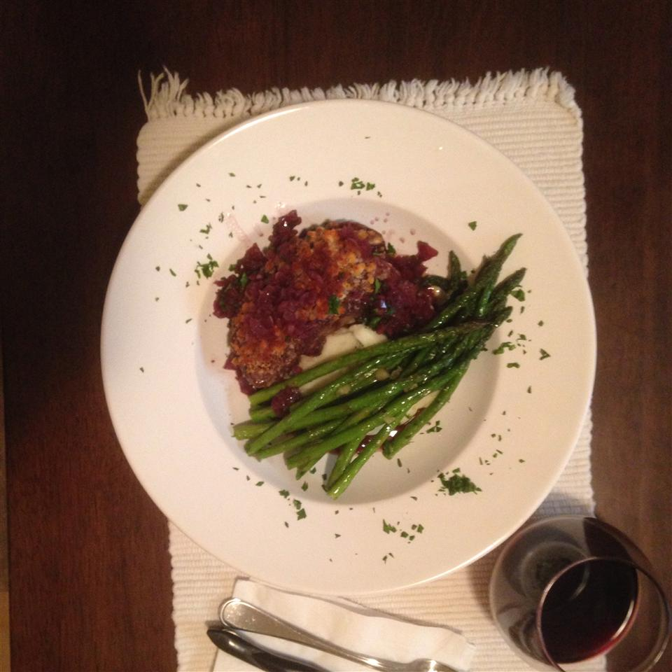 Blue Cheese Crusted Filet Mignon with Port Wine Sauce OutandAboutlv