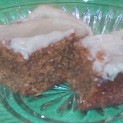 Iced-Spiced Ginger Bars sueb