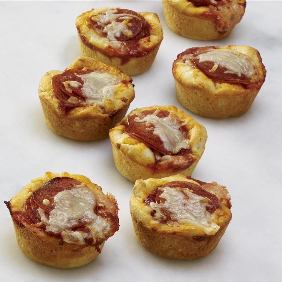 Easy Pepperoni Pizza Muffins Allrecipes Magazine