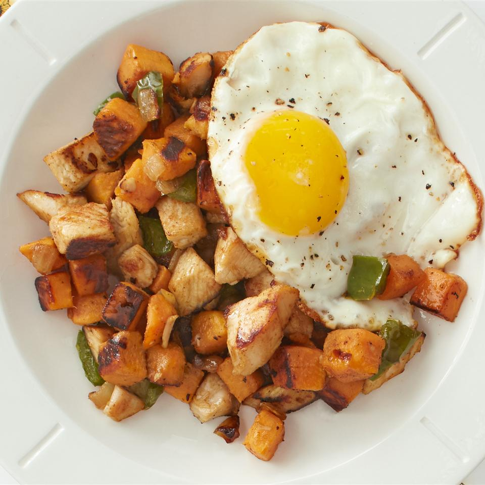 Sweet Potato Turkey Hash