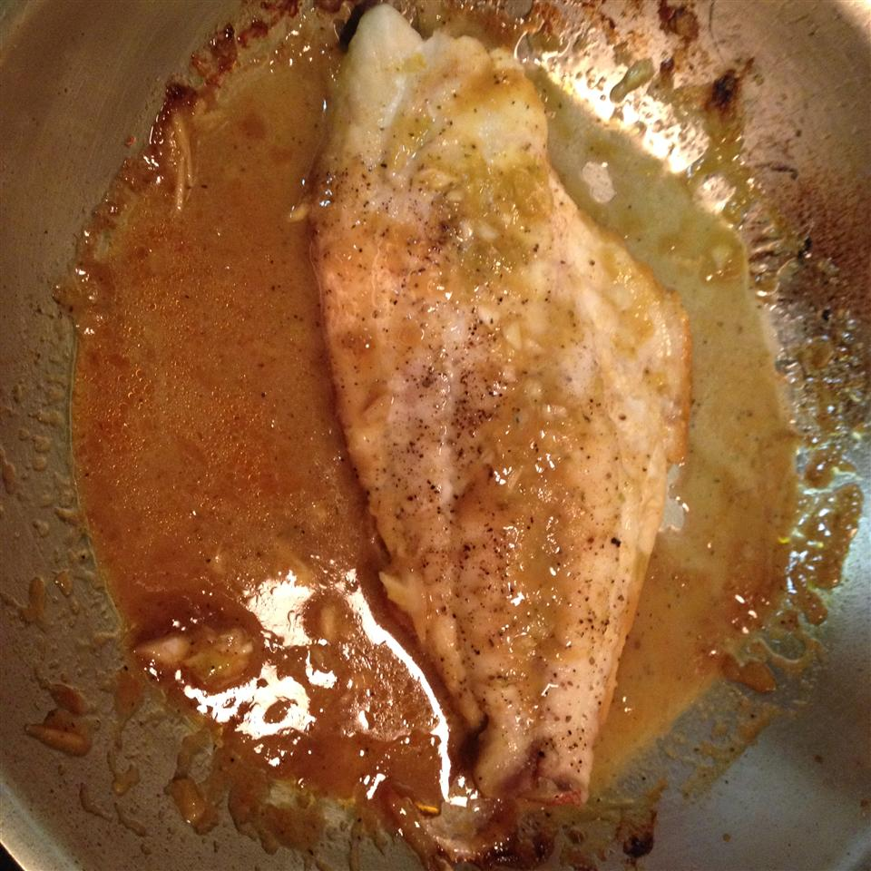 Pan Seared Red Snapper Cliff G