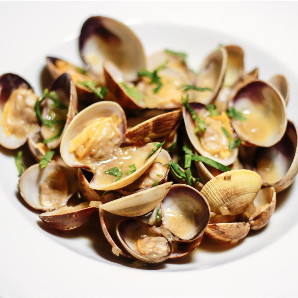 Clams in Oyster Sauce Aja