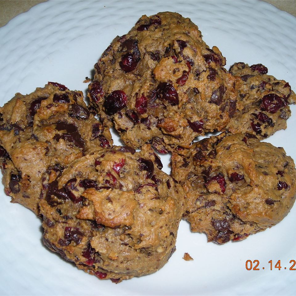Very Cranberry Chocolate Chip Cookies Patty