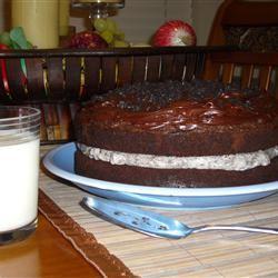 Chocolate-Covered OREO Cookie Cake