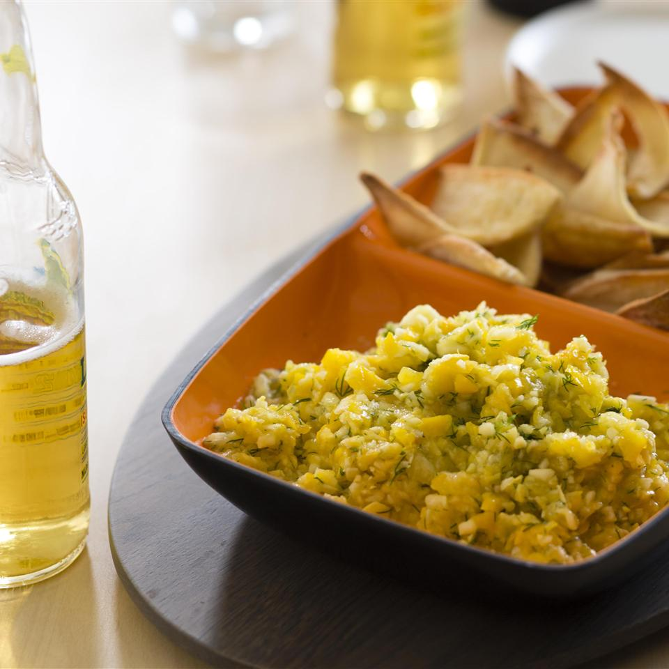 Golden Gazpacho Dip