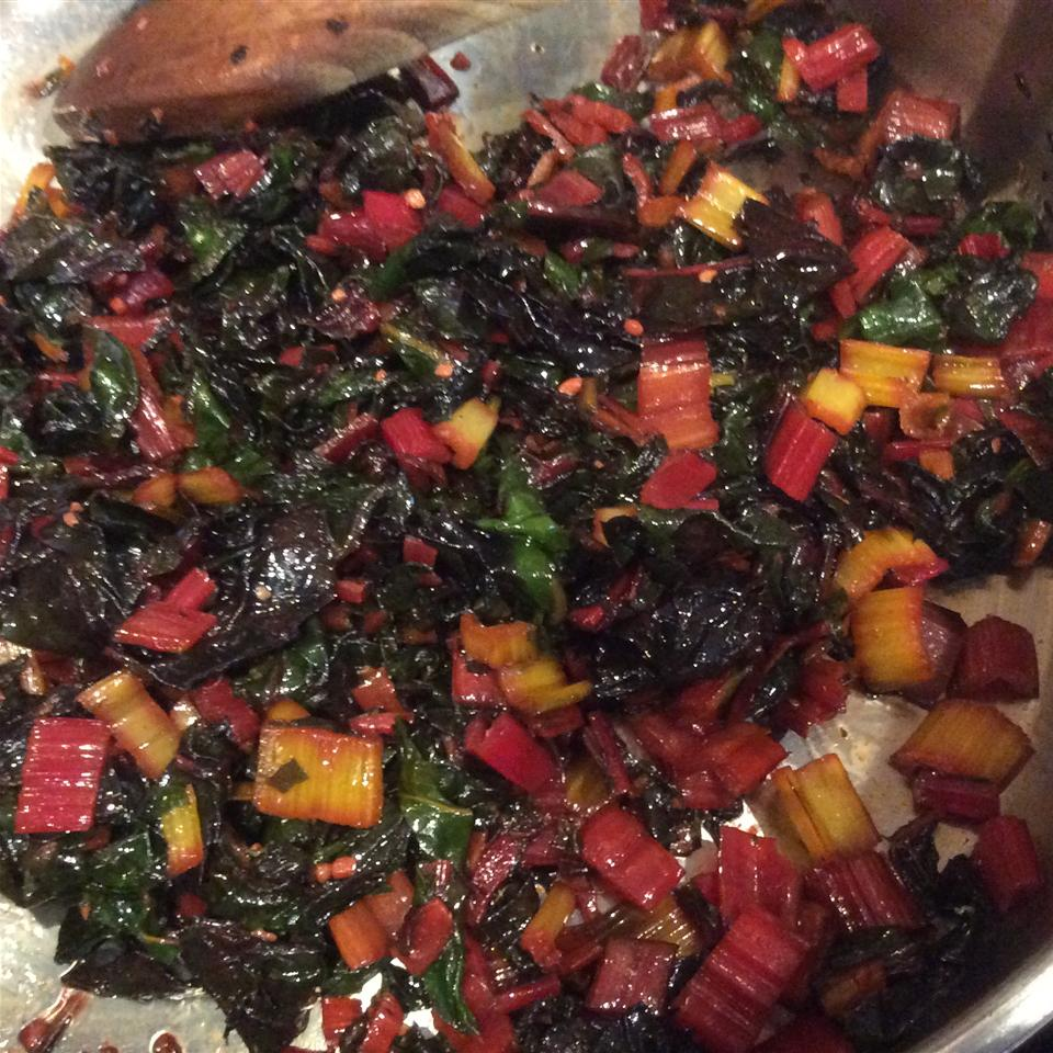 Lemon Garlic Rainbow Chard Allrecipes