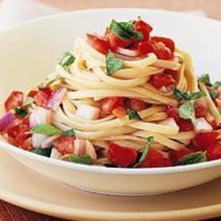 Easy Bruschetta Pasta