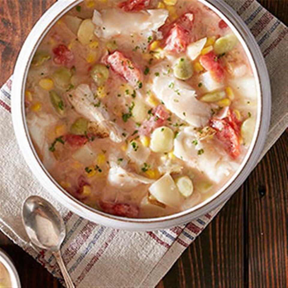 Hearty Fish Chowder from Reynolds Wrap® Trusted Brands