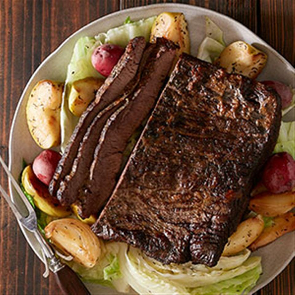 Slow Cooker Corned Beef and Cabbage from Reynolds®
