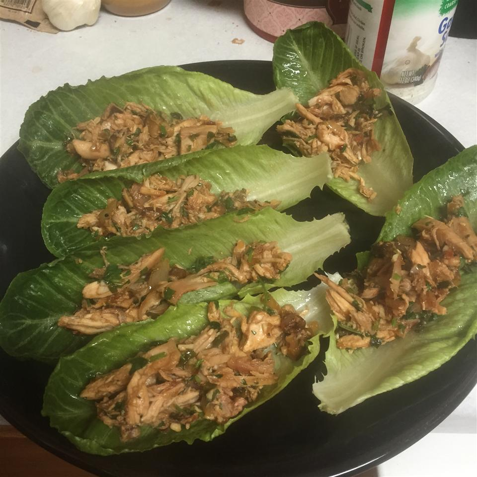 Chef John's Chicken Lettuce Wraps Morgan
