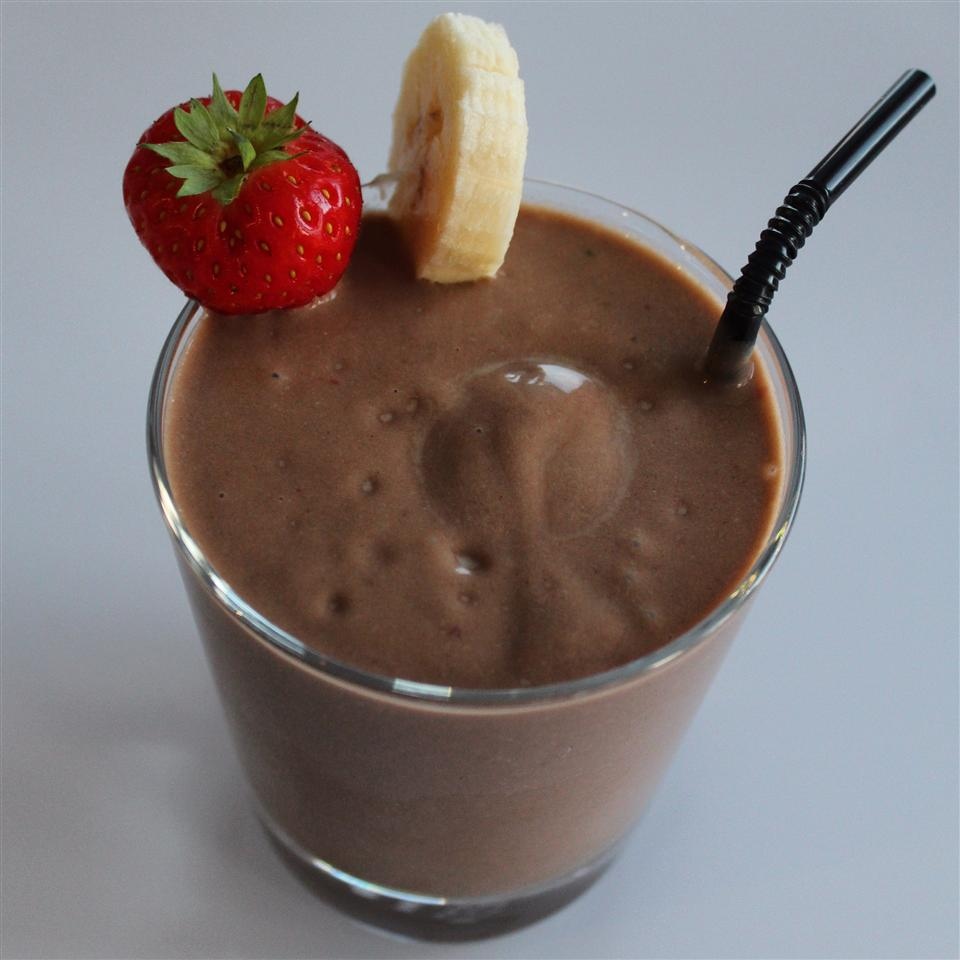 Superfood Chocolate Pudding Smoothie