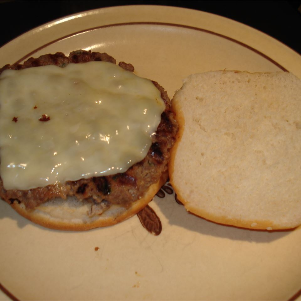 Jalapeno-Blue Cheese Burgers Kristen O'Brien