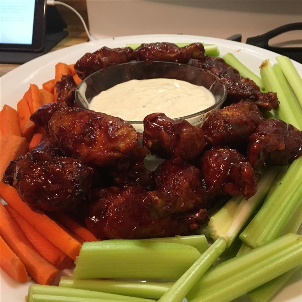 New Year's Eve Chicken Wings Keri