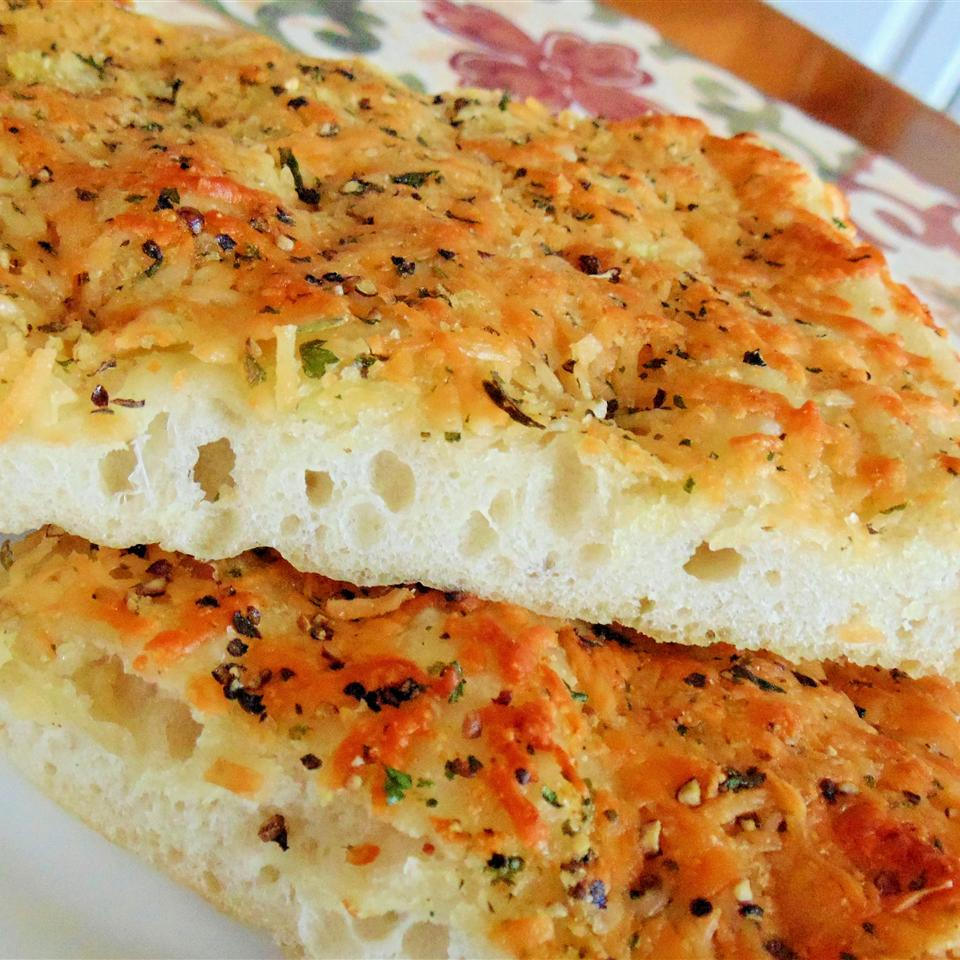 Deliciously Easy Garlic Herb Focaccia