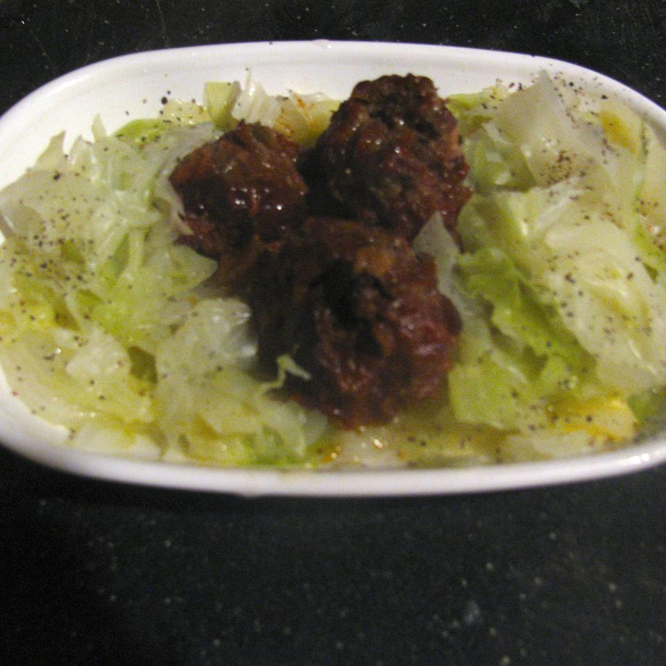 Marvelous Mongolian Meatballs Ramona Perse Brown