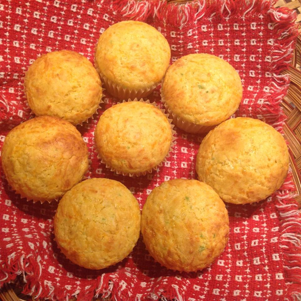 Spicy Cornbread Mini-Muffins BarbZ