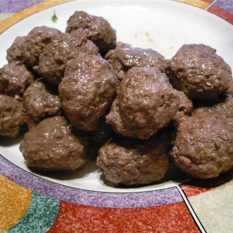 Fabienne's Bison Meatballs Fabienne Riesen